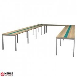 Stół Evro Podkowa ze szkłem EV90S (560x320)