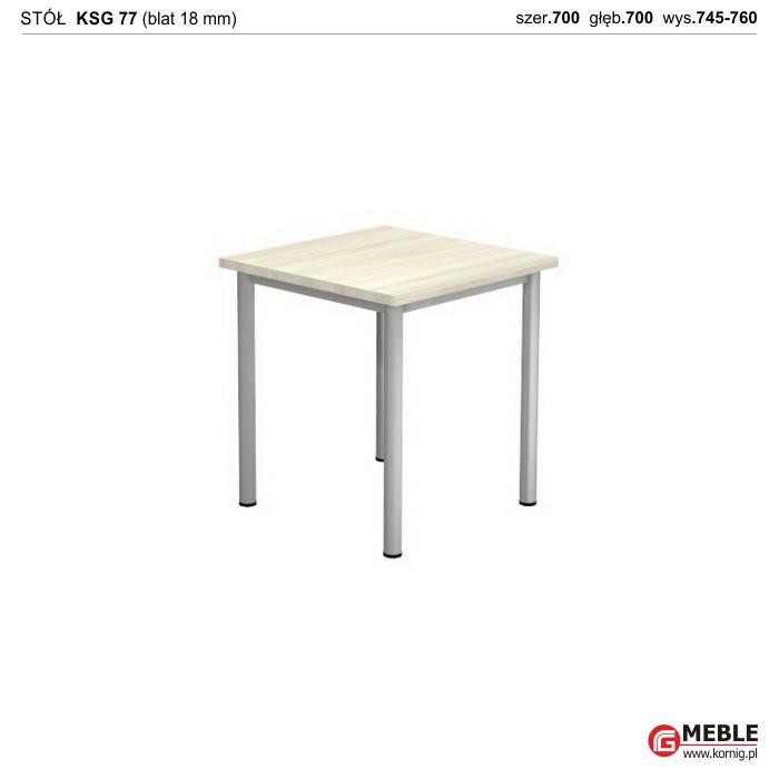 Stół KSG-77 (grubość blatu 18 mm)