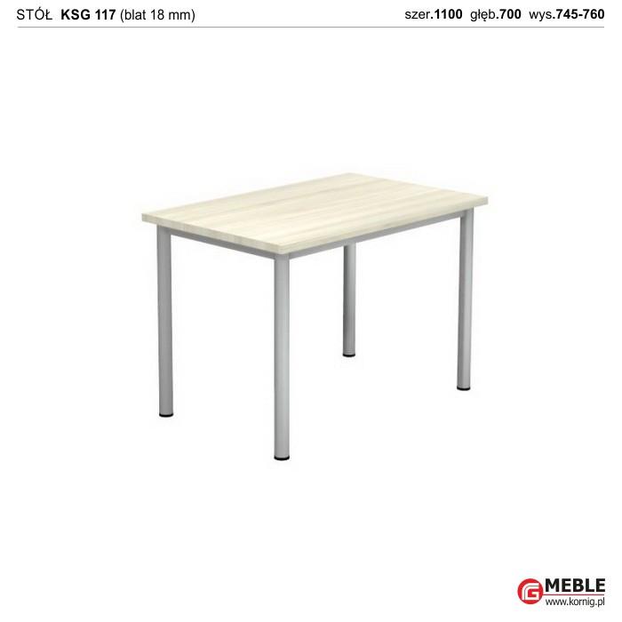 Stół KSG-117 (grubość blatu 18 mm)