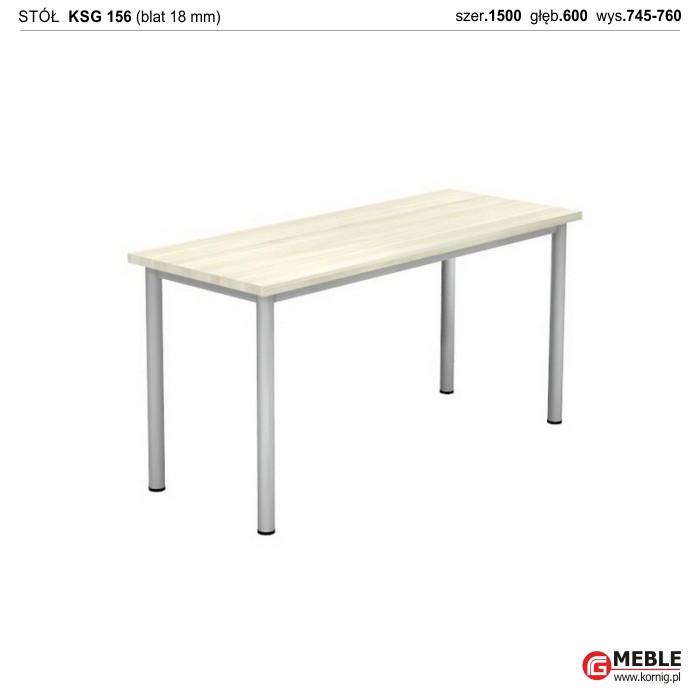 Stół KSG-156 (grubość blatu 18 mm)