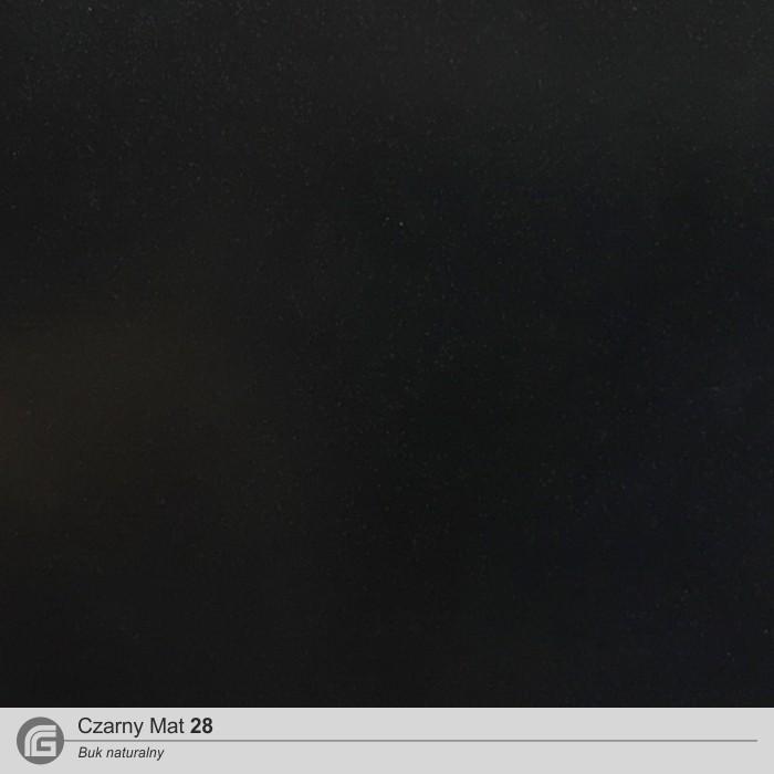 Czarny mat 28 (BUK)