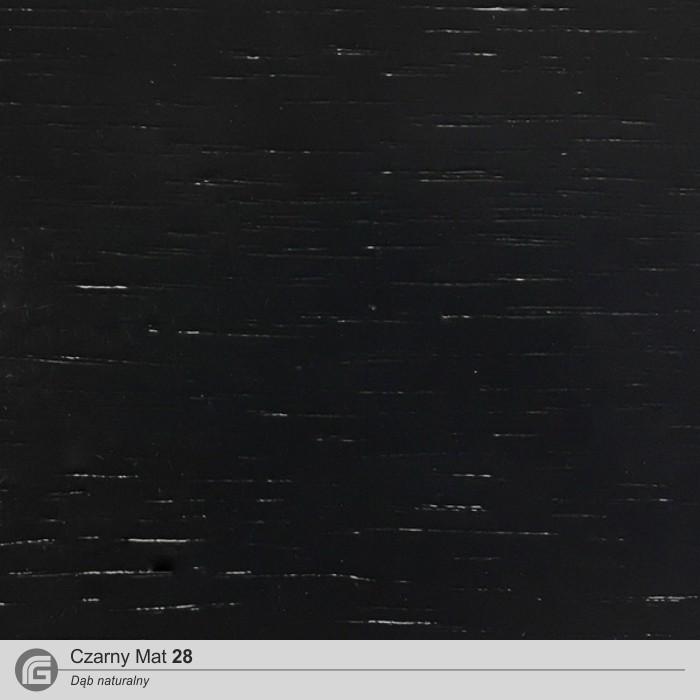 Czarny mat 28 (DĄB)