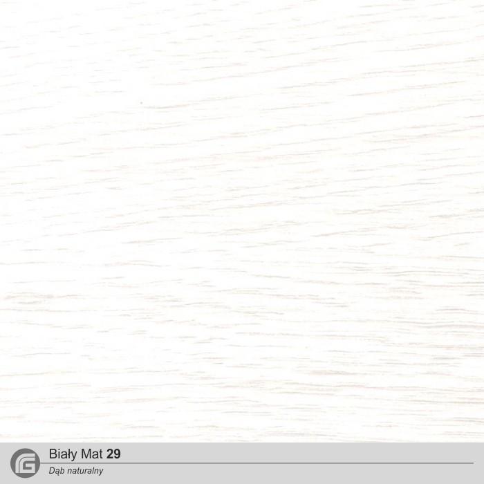Biały mat 29 (DĄB)