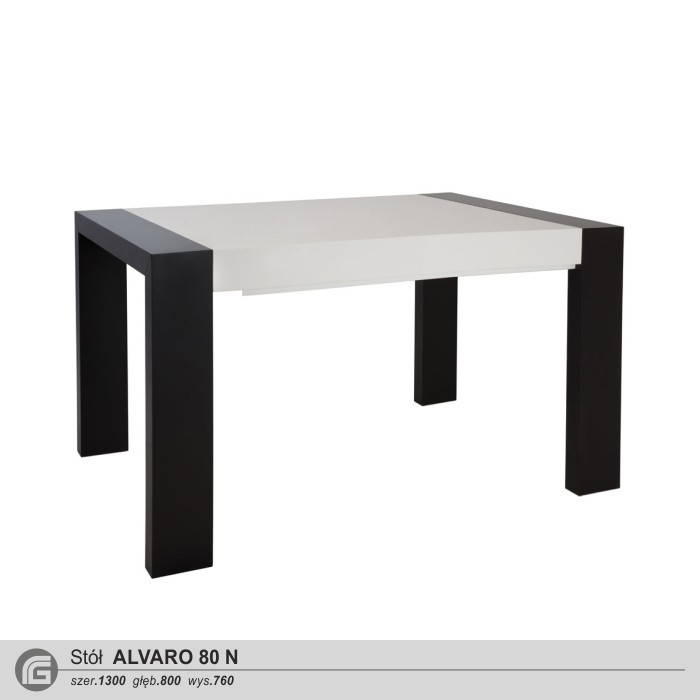 Stół ALVARO 80 N (130x80)