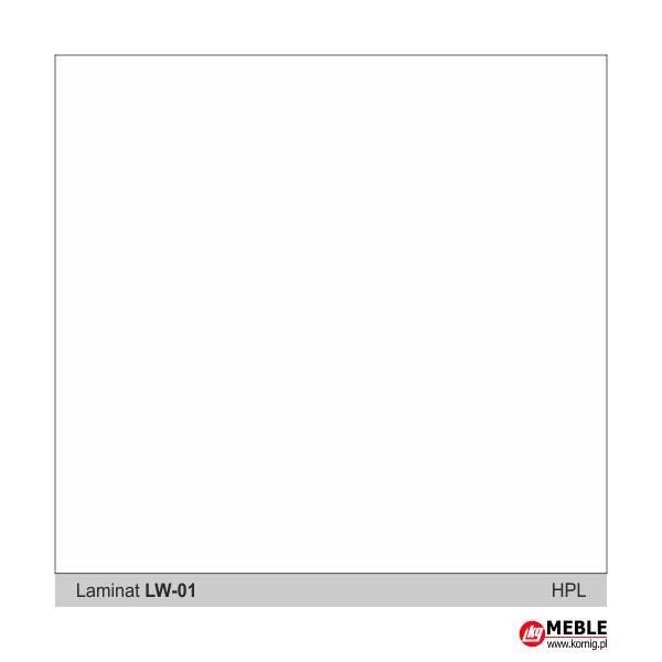 Laminat LW01 biały