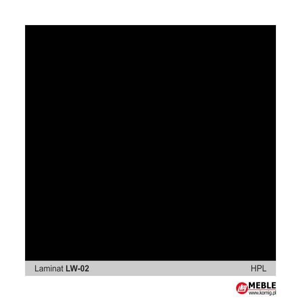 Laminat LW02 czarny
