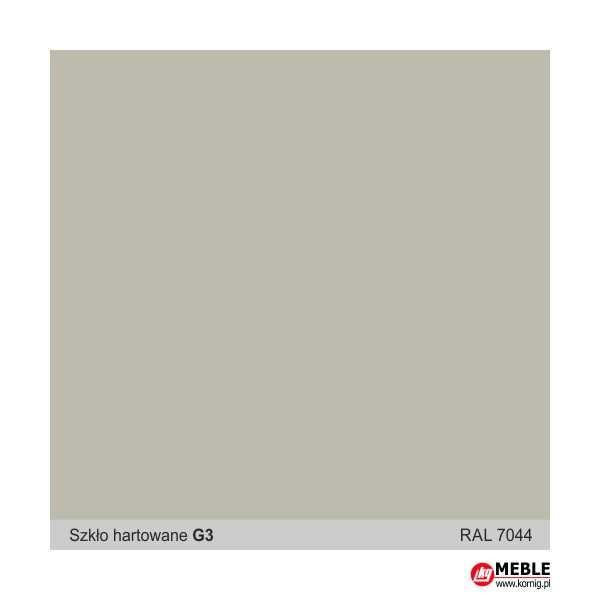 Szkło hartowane G3 szaro-beżowy