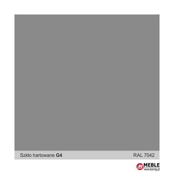 Szkło hartowane G4 szary